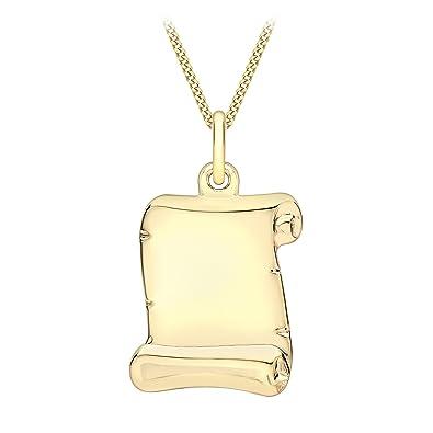 Carissima Gold 9ct Yellow Gold Key Charm Pendant k9FhE9X