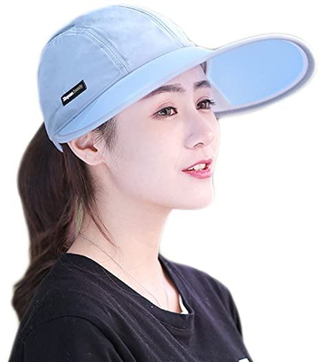 1142a260cbd Womens Sun Cap Hat Large Brim UV Protection for Summer Fishing Hiking  Farmer Garden Work Activities