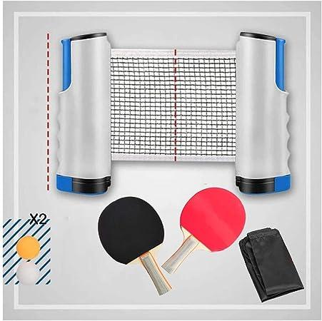 Retractable Red De Tenis De Mesa Juego De Tenis De Mesa Portátil con Abrazaderas De Soporte Red De Mesa De Ping Pong Mesa De Ping Pong/Escritorio De Oficina: Amazon.es: Hogar