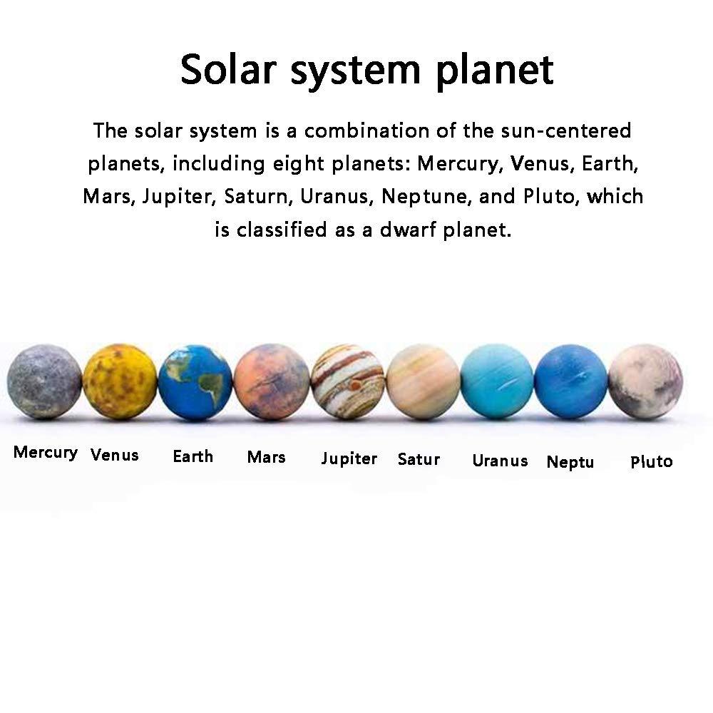 Sistema Solar Planet AR 3D Modelo De Simulación, 3 Cm Resina ...