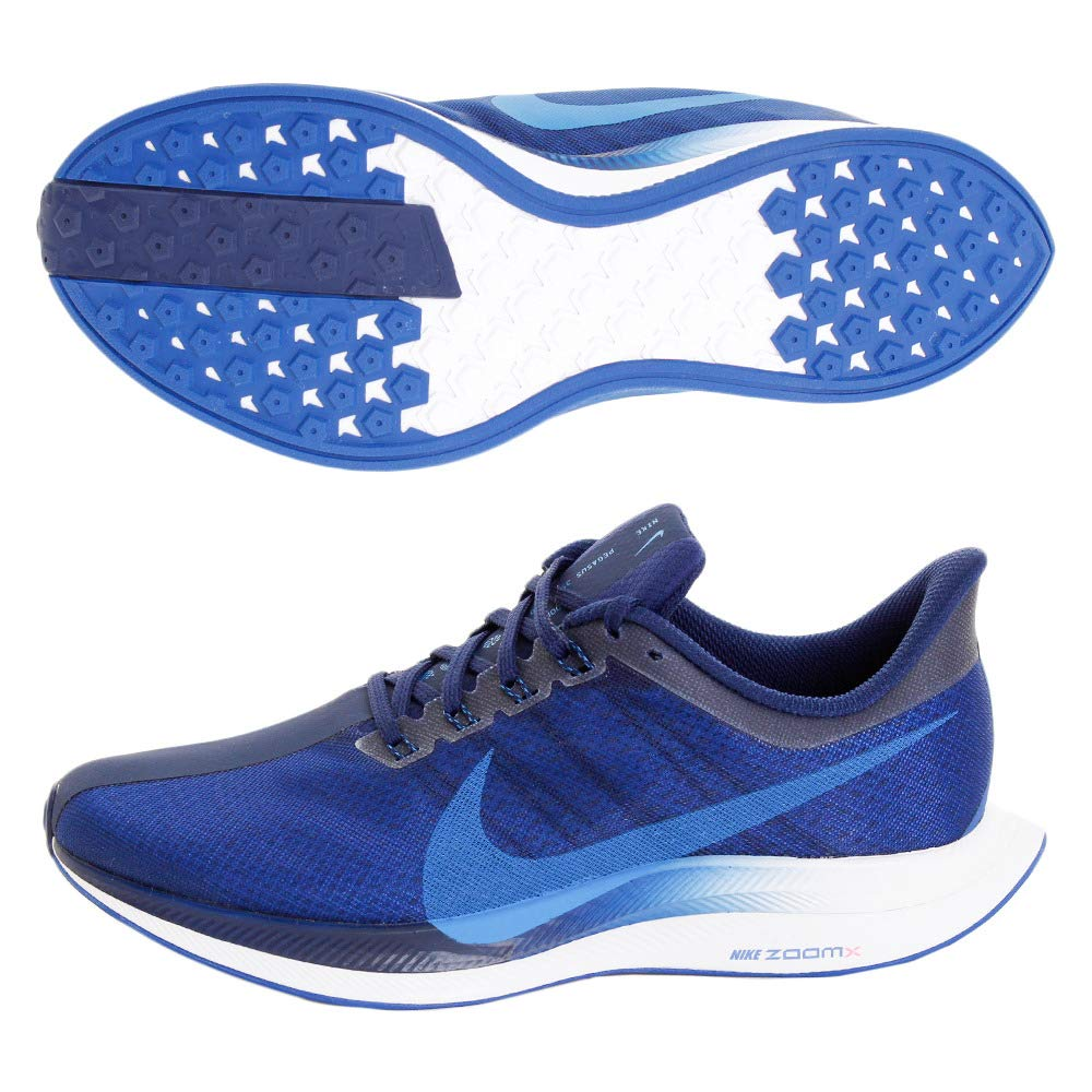 the best attitude 535d7 18c10 Amazon.com   Nike Zoom Pegasus 35 Turbo Men s Running Shoe Indigo Force Photo  Blue-Blue Void 10.0   Running