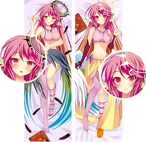 Uniquely Home Decor Hot! Japan Anime (No Game No Life) Christmas Gift Pillowcase Body Size Double Sided Bolster Bedclothes Pillow Cover With Pillow Inner 34100cm by Uniquely® (Image #5)