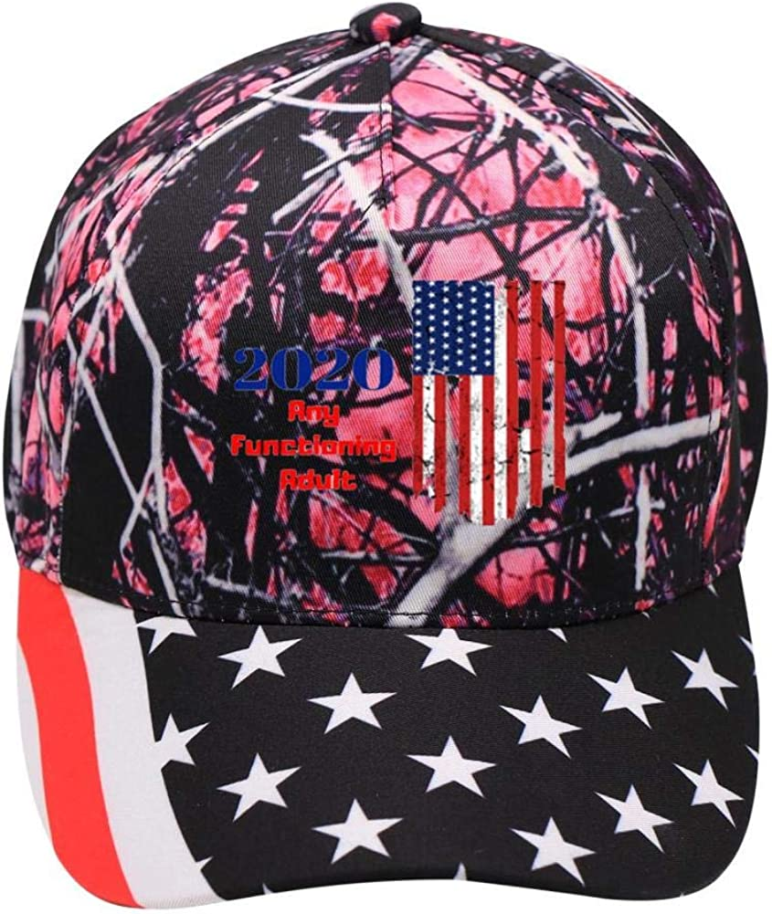 2020 Election USA:WUROIMK Baseball Caps American Outdoor Forest Elements Adult Teens Can Adjust