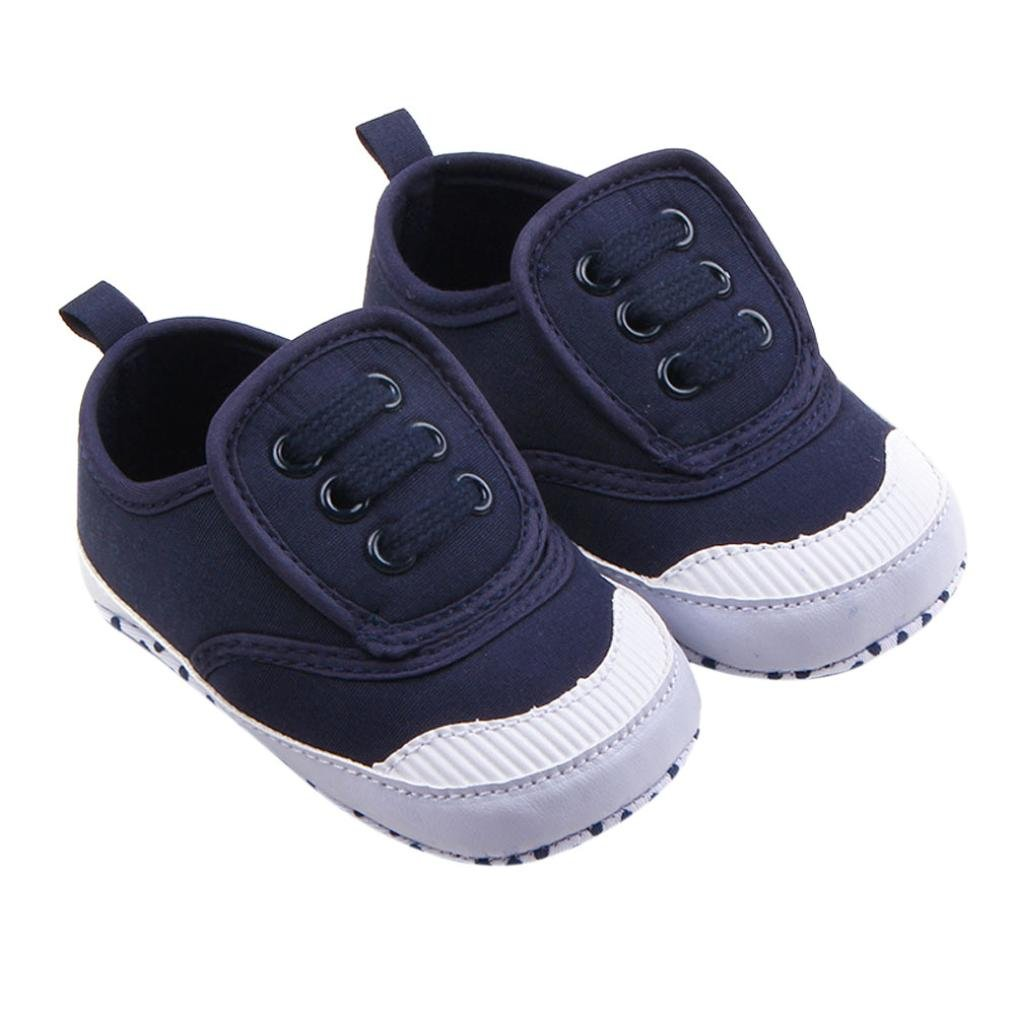 b4c219be82fd5 Binmer(TM) Infant Baby Boy Girl Soft Sole Crib Shoes Sneaker Prewalker Crib  Shoes