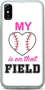 My Baseball Sports Fan Cell Phone Case Slim Shockproof Hard Rubber Custom Case Cover for iPhone 12 Pro Max Mini 11 XS