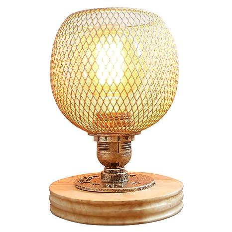 Lámpara de mesa decorativa de luz nocturna Lámpara de mesa ...