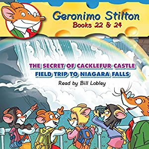 Geronimo Stilton 22 & 24 Audiobook