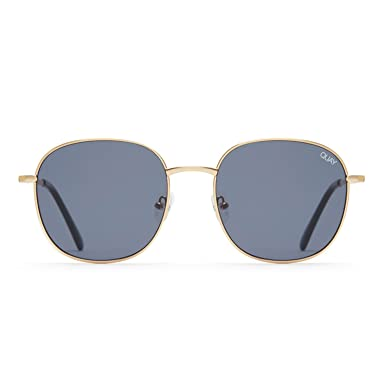 e0ebc17407 Quay Australia JEZABELL Women s Sunglasses Minimal Round Sunnies -  Gold Smoke