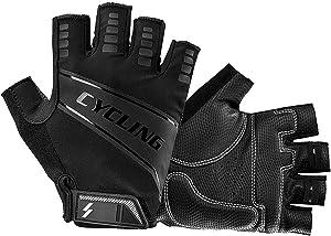 Summer Cycling Sports Gloves Lightweight - Half Finger Padded Shock Biking Running Glove Windproof Driving Work Gloves for Hiking Biking Climbing For Men Women