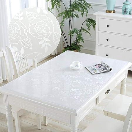 ZHENYUE plástico PVC Transparente Mantel Impermeable Libre de ...