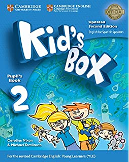 Kids Box Level 2 Pupils Book with My Home Booklet Updated English for Spanish Speakers Second