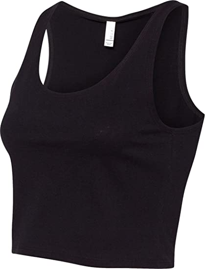 a7e292bd40f78 Bella Canvas 6680 - Ladies  Crop Tank at Amazon Women s Clothing store