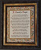 A Parent's Prayer (Personalization Available) - Framed Inspirational Blessing - Baby Gift for Twins or Multiple Children (Personalization Available)