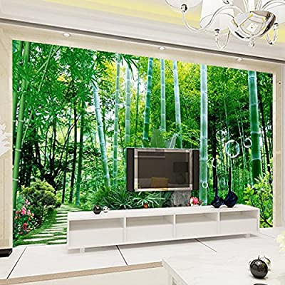 XLi-You 3D CUSTOM living room bedroom bamboo tv background wall paper murals