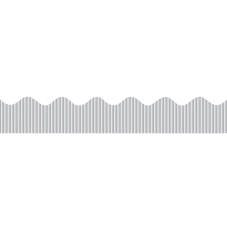 Pacon Bordette(R) Design Border, Metallic Silver SUNWORKS PAC37850