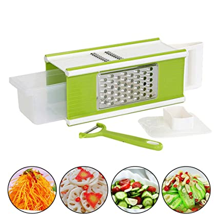 amazon com multifunction vegetables cutter four sided vegetables