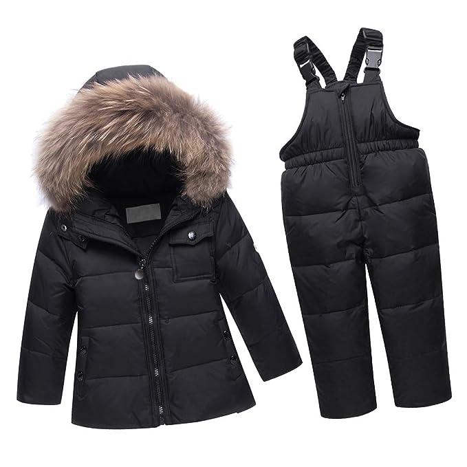 51383cf2d44b P Prettyia Piumino Bambini, Tuta Da Sci Per Bambino Giacca Bambina Snowsuit  Snowboard Piumino Leggero Sci Giacche Completo: Amazon.it: Abbigliamento