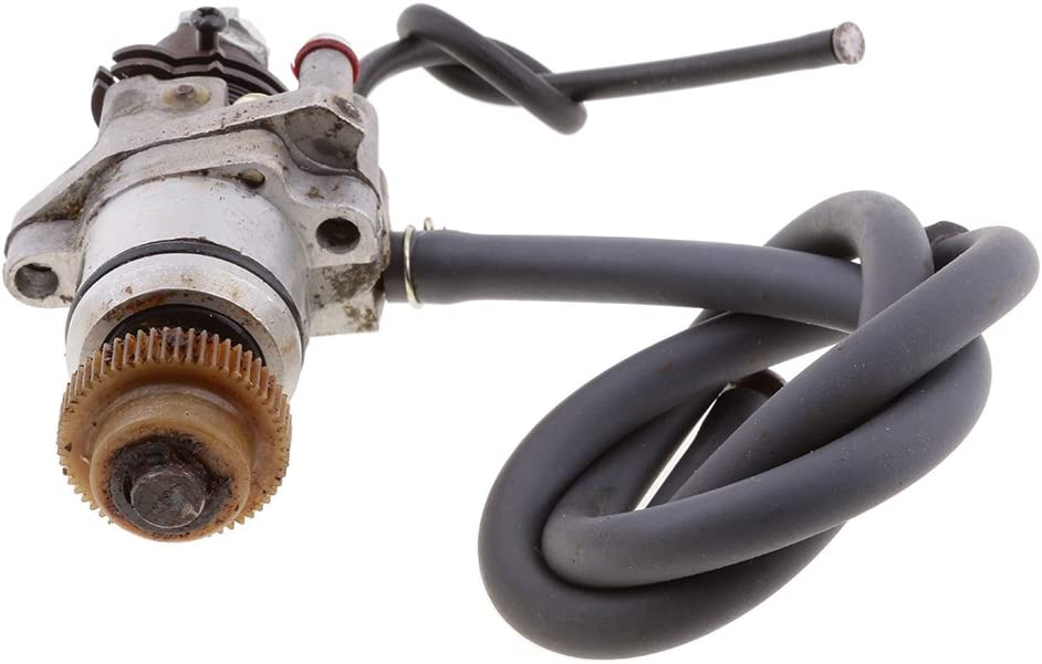 Gazechimp Oil Pump Injector Gear for Yamaha PW50 PW 50 Zinger Dirt Bike