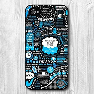 iphone covers Lovely Design The Fault In Our Stars Pattern Protective Hard Phone Cover Skin Case For Iphone 6 4.7 +Screen Protector