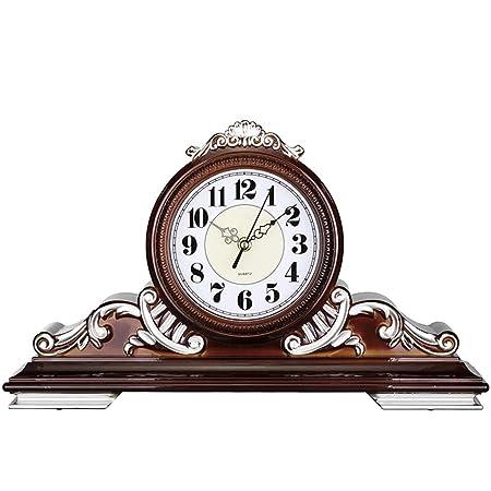 QQB &Reloj de Escritorio Reloj de Mesa Vintage Sala de Estar ...