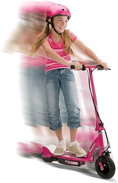 Amazon.com: Razor E100 - Patinete eléctrico, color rosa ...