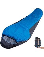 CAMTOA – Saco de dormir bag-ultrlight, Multicolour, fácil de empacar para Camping