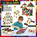 IQ BUILDER | STEM Learning Toys | Creative Construction Engineering | Fun Educational Building Toy Set for Boys and Girls Ages 5+ | Best Toy Gift for Kids | 164 PCS Kit Comes With Toy Box and 3 eBooks