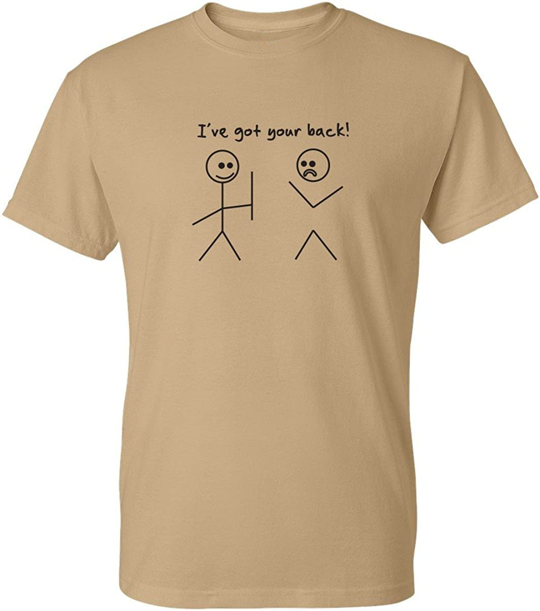 Ive Got Your Back Stick Figure Graphic Friends Funny T Shirt Funny T Shirts