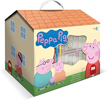 Multiprint Peppa Pig - Casa para decorar , color/modelo surtido: Amazon.es: Juguetes y juegos