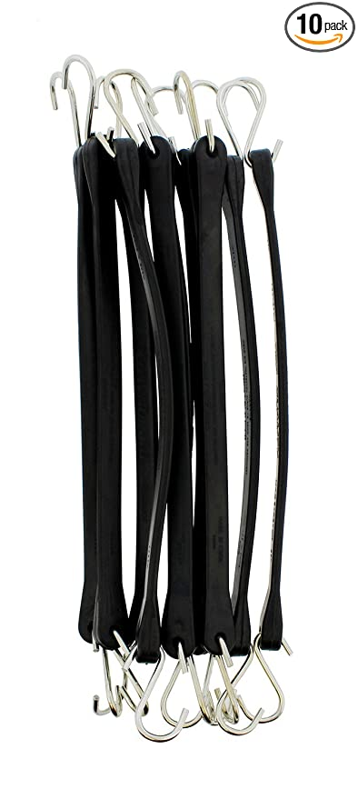 265e941d15ed Amazon.com  ABN EPDM Bungee Cords with Hooks 10-Pack