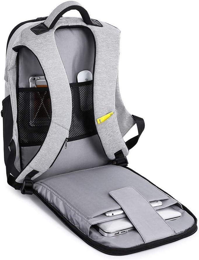 HDHUA Laptop Bag USB Multi-Function Smart Shoulder Bag Computer Bag Business Casual Men Breathable Bag