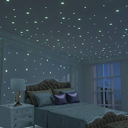 Glow Star Kid Bedroom Wall Stickers