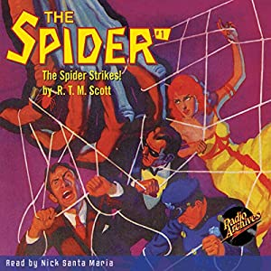 The Spider #1: The Spider Strikes Audiobook