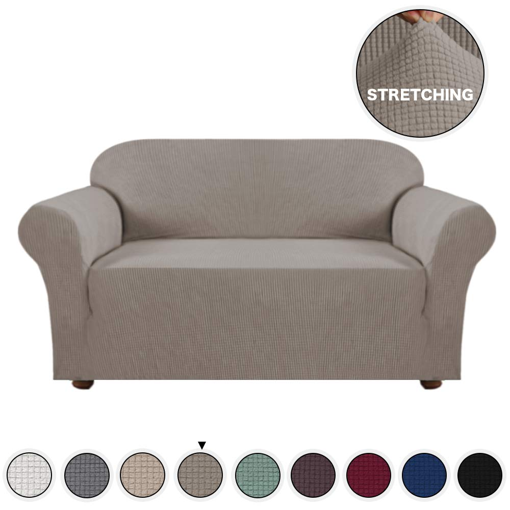 Ottoman, Black Turquoize Stretch Ottoman Slipcover Stretch Storage Ottoman Slipcover Protector Spandex Elastic Rectangle Footstool Sofa Slip Cover for Foot Rest Stool Furniture in Living Room