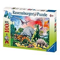 Ravensburger - Puzzle con diseño de dinosaurios, 100 piezas (10957 9)
