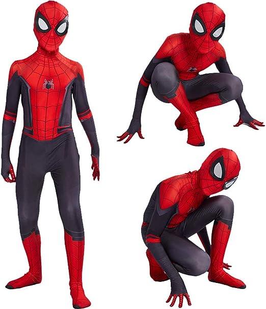 ZUOZHE Traje De Spiderman Niño Adulto Spider-Man Homecoming ...