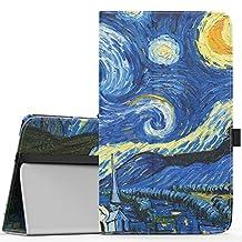 MoKo Samsung Galaxy Tab E 8.0 Case - Slim Folding Cover Case for Samsung Galaxy Tab E 8.0 Inch SM-T377 4G LTE Verizon / Sprint Tablet, Starry Night