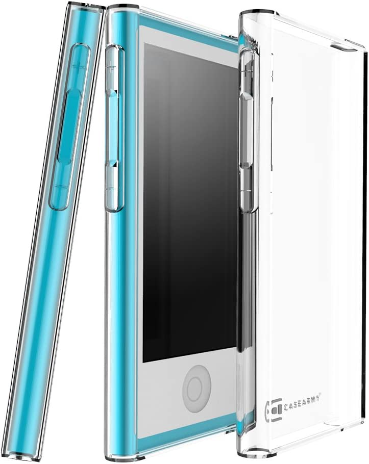 Case Army iPod Nano 7   7th & 8   8th Generation Clear Case [Manifest] Scratch-Resistant Slim Clear Case for Apple iPod Nano 7th   8th Gen. Soft Flexible Silicone Crystal Clear Cover with TPU Bumper