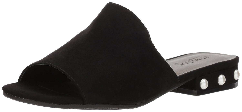 Kenneth Cole REACTION Women's Vikki Slip Embellished Heel Slide Sandal B074RMKK93 7.5 B(M) US Black