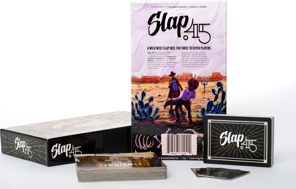 Slap .45: A Wild West Shootout Game for 3-7 Players by Slap .45 ...