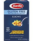 Barilla Gluten Free Pasta, Gluten Free Elbow Macaroni Pasta, One 12 Ounce Box