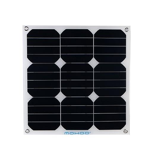 4 opinioni per MOHOO pannelli solari 30W 12V Fotovoltaico