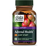 Gaia Herbs Adrenal Health Jump Start, Adrenal Fatigue Supplement for Mood Support and Optimal Energy with Rhodiola…