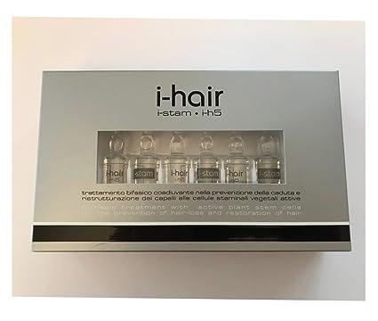 i-hair Serum, Ampollas Anticaída pelo, piel Exfoliación capelluto, 6 + 6