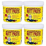 Boudreaux's Butt Paste Diaper Rash Ointment - Original - Contains 16% Zinc Oxide 16 oz, 4-Pack