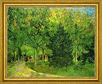 A Lane In The Public Garden At Arles By Vincent Van Gogh   15u0026quot; X