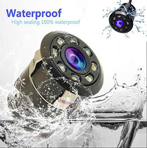 XJW Waterproof Car Rear View Backup Camera 8 Infrared Night Vision Full HD CCD Camcorder 170-Degree /… 4350455686