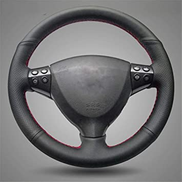 NATURAL LEATHER STEERING WHEEL COVER FOR MERCEDES W169