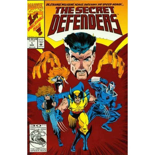 The Secret Defenders #1 : A Gathering of Heroes (Marvel Comics) ()