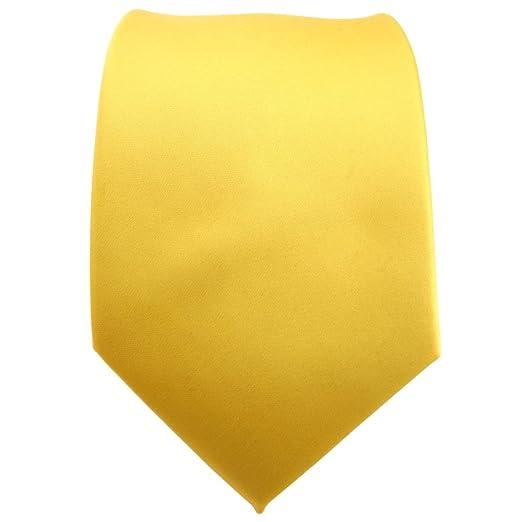 TigerTie - Corbata - amarillo luz amarilla zinc-amarillo monocromo ...